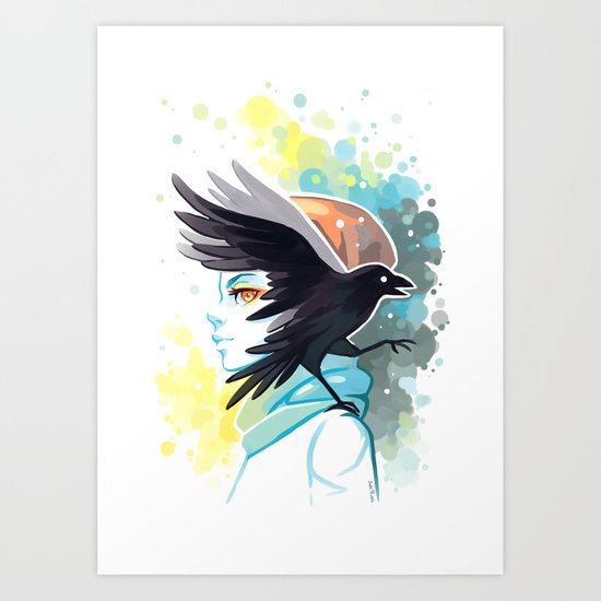Forward Art Print