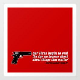 silencer [reloaded] Art Print