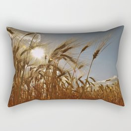 Cereals Cornfield Rectangular Pillow