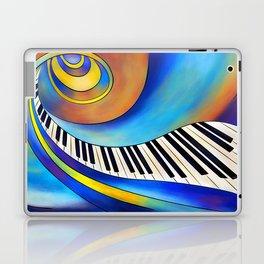 Redemessia - spiral piano Laptop & iPad Skin