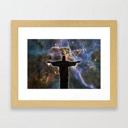 I am the Light Framed Art Print
