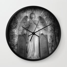 Angel Watching Over You Wall Clock