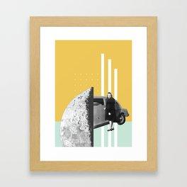 Riding In Cars Framed Art Print
