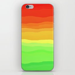Warm Fall Ombre iPhone Skin