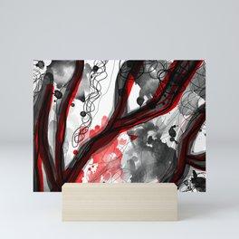 Typing Senses Mini Art Print