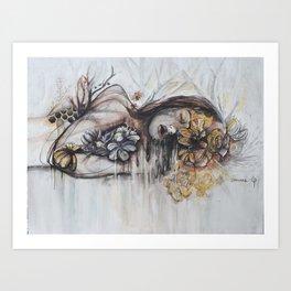 Abeille (bee) Art Print