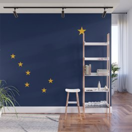 Flag of Alaska - Authentic High Quality Image Wall Mural