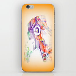 Let the Music Flow iPhone Skin