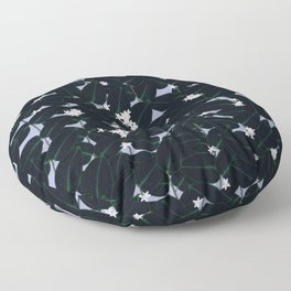 Night Blooming Floor Pillow