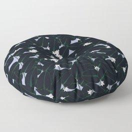 Night Blooming Floor Pillow