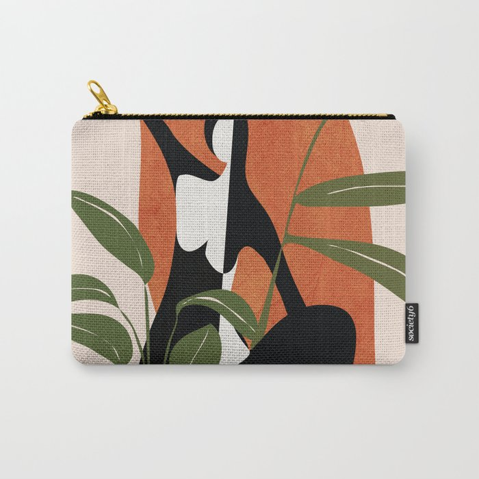 Abstract Female Figure 20 Carry-All Pouch