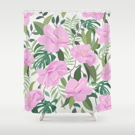 Soft Garden Shower Curtain