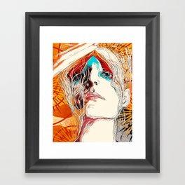 Nico Framed Art Print