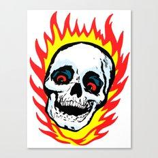 Skull 01 Canvas Print
