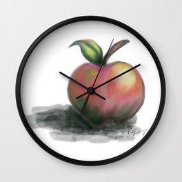 Apple - Pomme Wall Clock