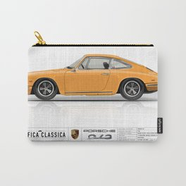 Porsche 1968 912 Bahama Yellow Carry-All Pouch