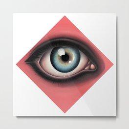 D-eye-mond Metal Print