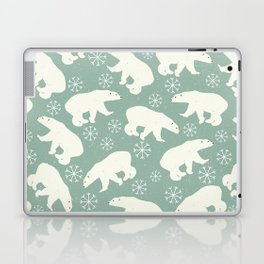 Merry Christmas - Polar bear - Animal pattern Laptop & iPad Skin