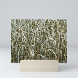 Summer Wheat Field Mini Art Print