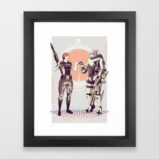 Mass Effect : King of the bottle shooters. Framed Art Print