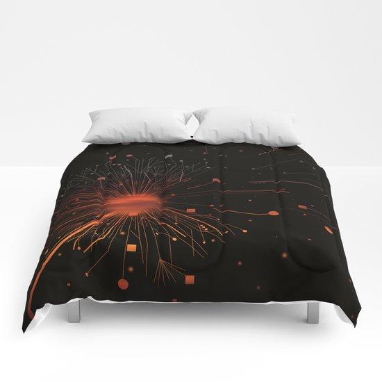 RISE OF DANDELION Comforters