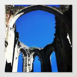 Old Church Walls Canvas Print