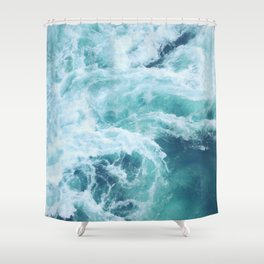 Ocean Waves I Shower Curtain