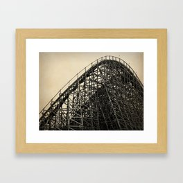 Lightning Racer Framed Art Print
