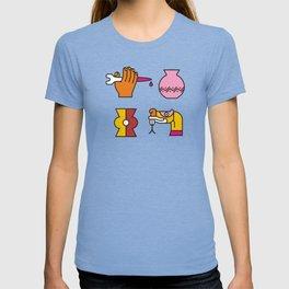 Aztec Glyphs ~4 T-shirt