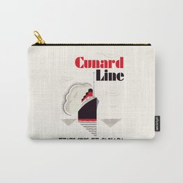Cunard Line art deco style Carry-All Pouch