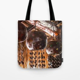Tulum Wind Chime Tote Bag