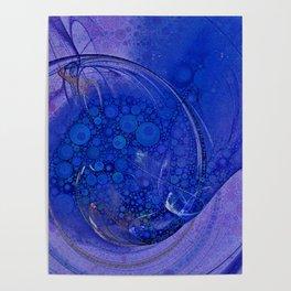 Blueberry Swirl Poster