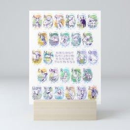 Alphabet Animals P Mini Art Print