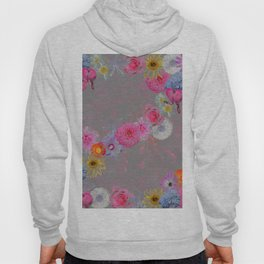Flowers mixed Hoody
