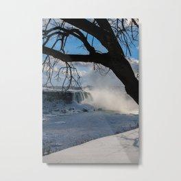 winter in Niagara Metal Print