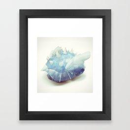 Blue Shell - Kart Art Framed Art Print
