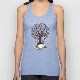 Coffee Tree Unisex Tank Top