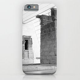 An adventure into the past II.  iPhone Case