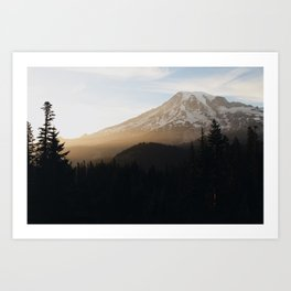 A Sunset To Never Forget Art Print