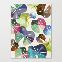 I dream of Lilypads Canvas Print