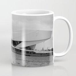 Black and white Film Museum in Amsterdam Coffee Mug