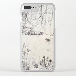 A stream Clear iPhone Case