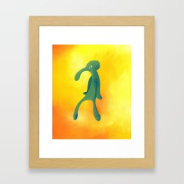 Bold and Brash Framed Art Print