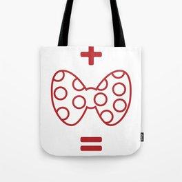Mickey loves Minnie Tote Bag