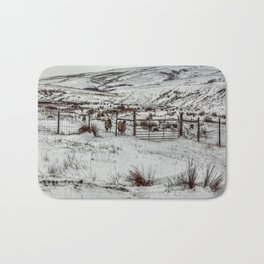 Winter in the Dales Bath Mat