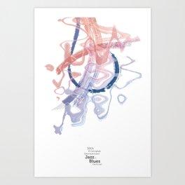 Jazz and Blues Art Print