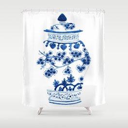 Ginger Jar II Shower Curtain