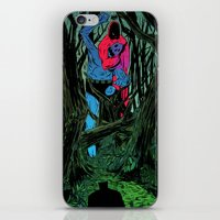 camp iPhone & iPod Skins featuring Training Camp by Eric Bonhomme