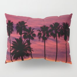 Sunset over Hollywood Pillow Sham