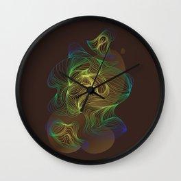 Organic Feelings III Wall Clock